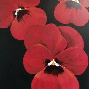 Rode bloemen 2/3