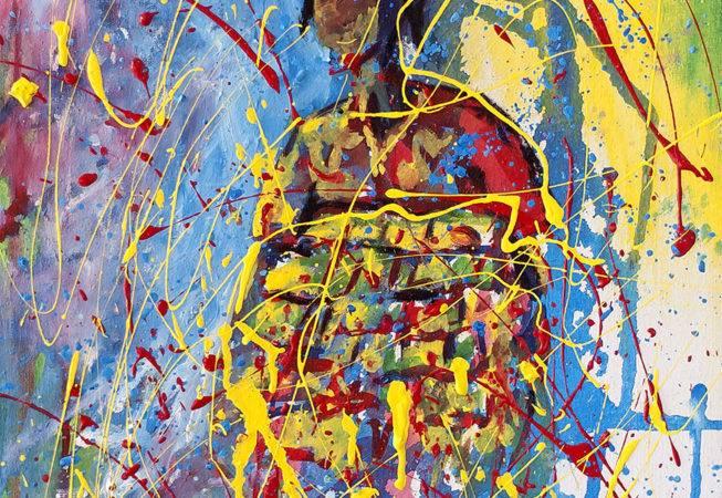 koto misi, 50 x 40, acryl on canvas